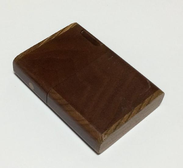 シガレットケース タバコケース 煙草ケース ササキ工芸 木製 ウォルナット材 クラフト