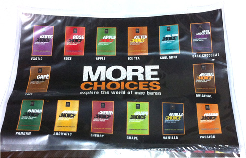 手巻きタバコ シャグ CHOICE_Original チョイス・オリジナル MAC_BAREN マックバレン チョコレート フレーバー 着香