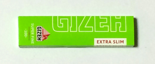 GIZEH ギゼ GIZEH_Extra_Slim_Super_fine ギゼ・エクストラスリムスーパーファイン・カットコーナー 手巻きタバコ 巻紙 ペーパー 薄紙