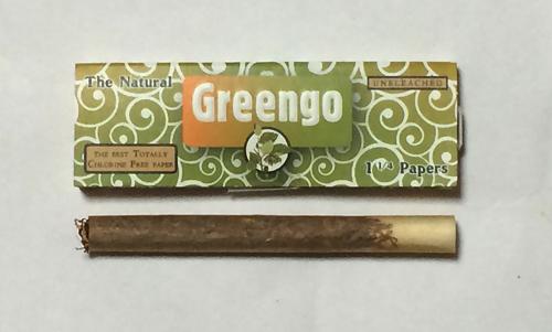 Greengo グリンゴー 手巻きタバコ ペーパー 巻紙 無漂白 FSC認証 最極薄