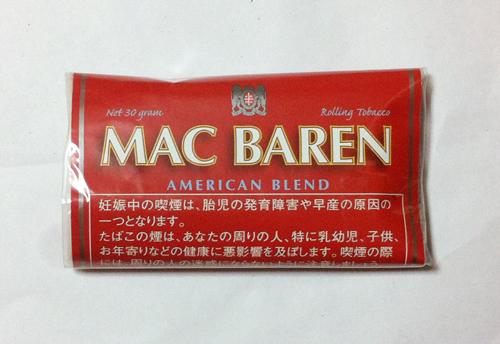 MAC_BAREN_AMERICAN_BREND マックバレン・アメリカンブレンド MAC_BAREN マックバレン チョイス CHOICE 手巻きタバコ シャグ