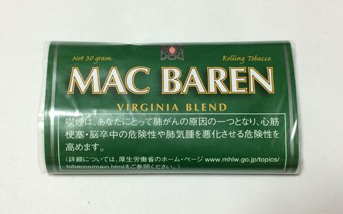 MAC_BARENVIRGINIA_BLEND マックバレン・バージニアブレンド MAC_BAREN マックバレン チョイス CHOICE 手巻きタバコ シャグ