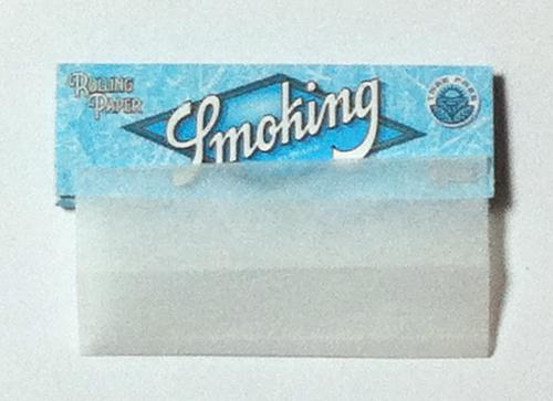 SMOKING スモーキング Smoking_No.8_Blue_100%_Tree_Free スモーキング・No.8ブルー スローバーニング ツリーフリー 手巻きタバコ 巻紙 ペーパー