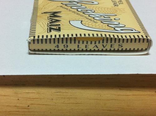 Smoking_Maiz, スモーキング・メイズ 手巻きタバコ 巻紙 コーンペーパー スローバーニング とうもろこし