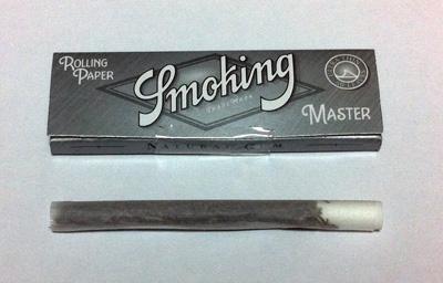 Smoking_No.8_Master, スモーキング・No.8マスター・シングル 手巻きタバコ 巻紙 極薄 スローバーニング ライスペーパー
