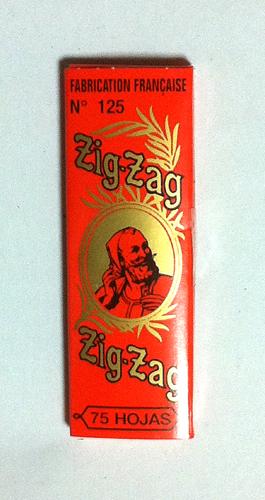 ZIG-ZAG ジグザグ ジグザグ・クラシックオレンジ ZIG-ZAG_Classic_Orange スローバーニング 極薄 1_1/4 手巻きタバコ 巻紙 ペーパー