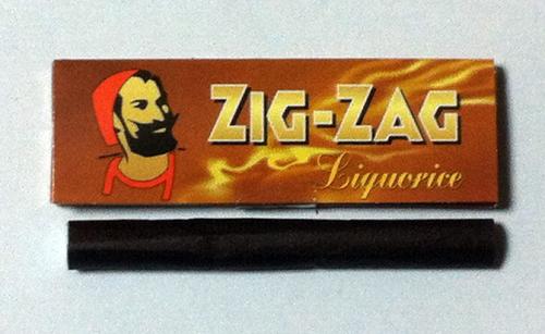 ZIG-ZAG-Liquorice ジグザグ・リコリス ジグザグ リコリス 手巻きタバコ 巻紙 ペーパー