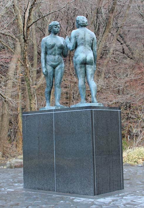 十和田湖と乙女の像-5