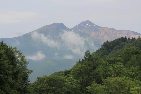 五色沼と磐梯山-2