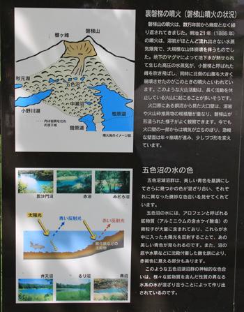 五色沼と磐梯山-4