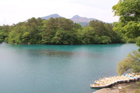 五色沼と磐梯山-5