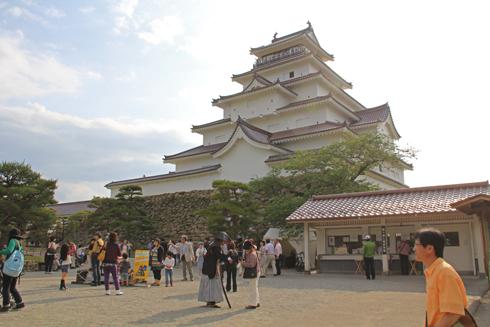 鶴ヶ城2013-5