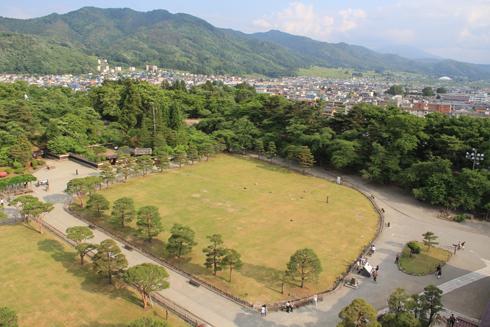 鶴ヶ城2013-10