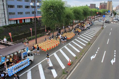 秋田竿灯祭り2013-1