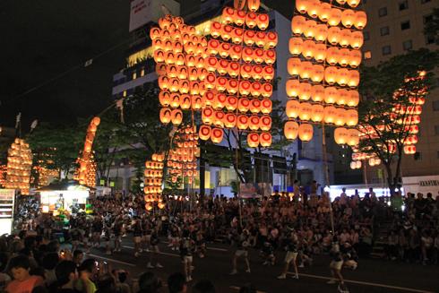 秋田竿灯祭り2013-7