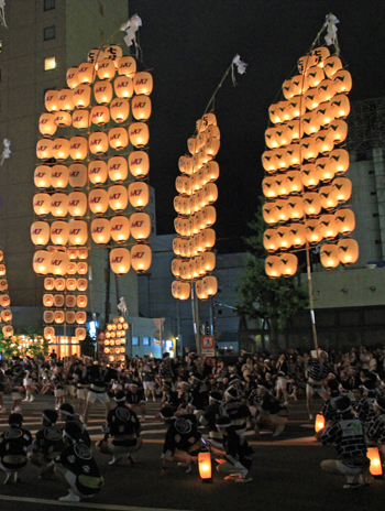 秋田竿灯祭り2013-8