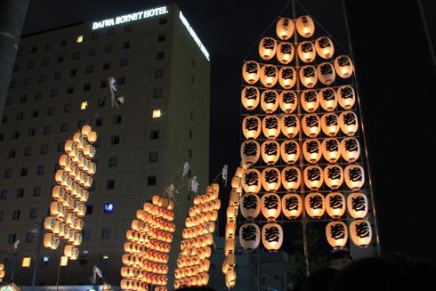 秋田竿灯祭り2013-9