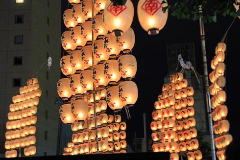秋田竿灯祭り2013-10