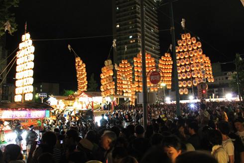 秋田竿灯祭り2013-12