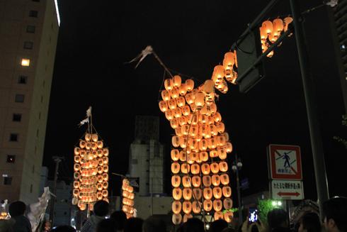 秋田竿灯祭り2013-14