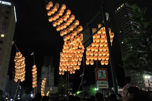 秋田竿灯祭り2013-15