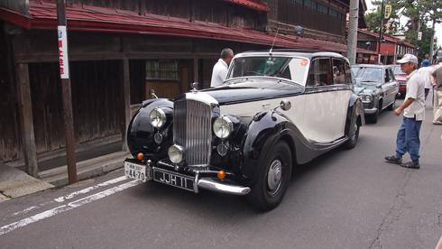 こみせ通りクラッシックカー2013-6