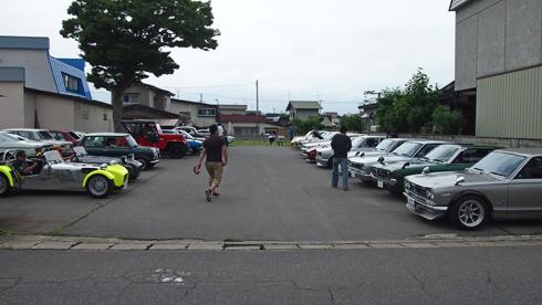 こみせ通りクラッシックカー2013-8