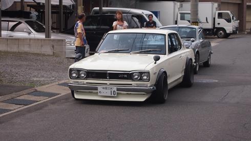 こみせ通りクラッシックカー2013-9