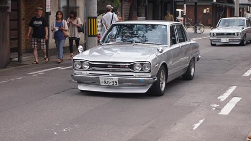 こみせ通りクラッシックカー2013-12