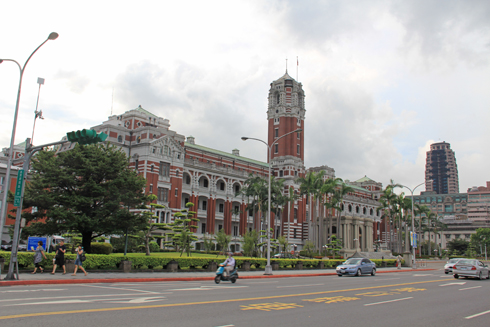 台湾総統府-3