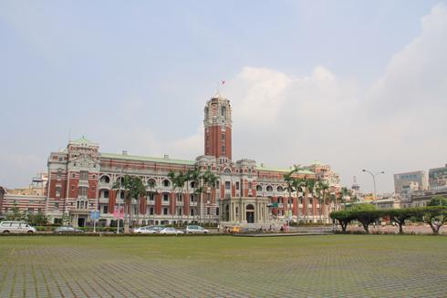 台湾総統府-4