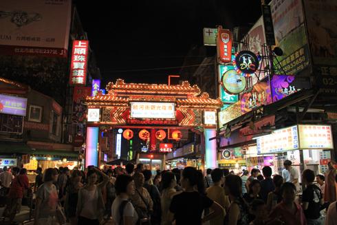 台湾の夜市-1