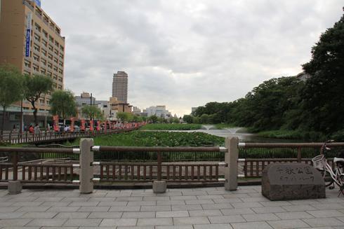 千秋公園と久保田城-2