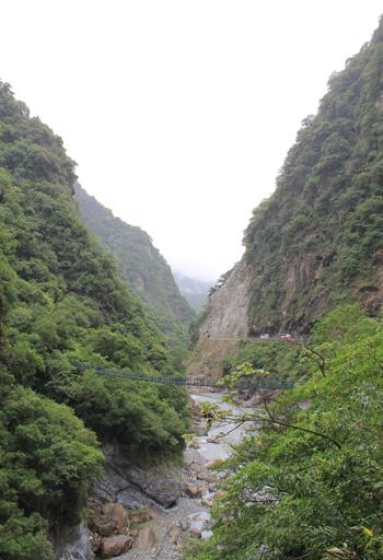 太魯閣峡谷と燕子口-2