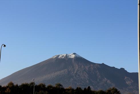 岩手山2013冠雪