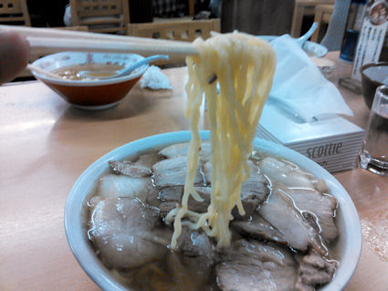 喜多方『坂内食堂 肉そば(大)』2