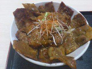 sたかひら精肉店の豚丼2