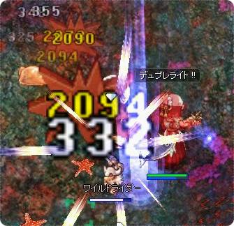 猫ライダーと対戦!(兎Lv98)