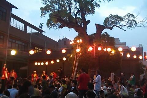 渭東コミセン祭り開幕