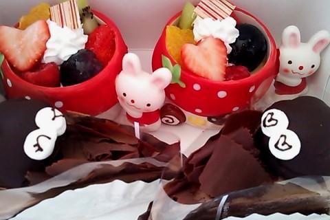 ご褒美のケーキ