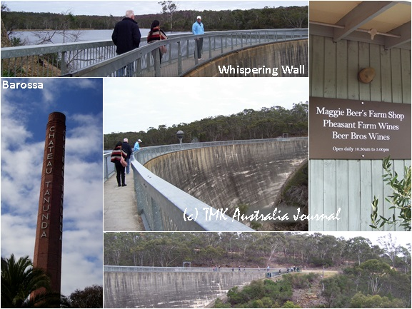 Barossa and Whispering wall