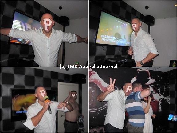 Mike karaoke1
