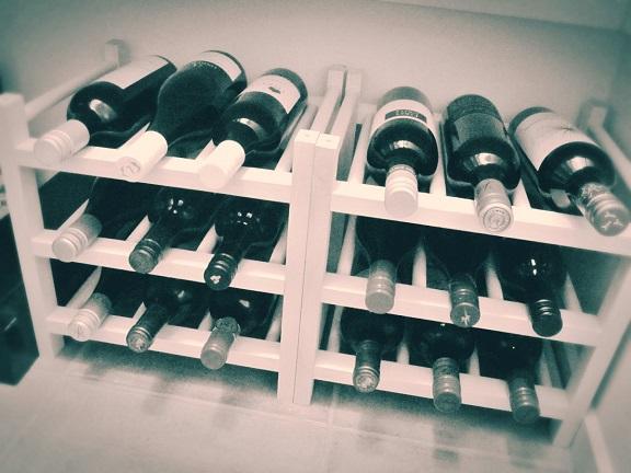 wine rack aj