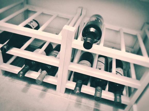 wine rack empty aj