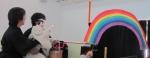 きれいな虹が