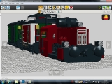 レゴ列車_1両目