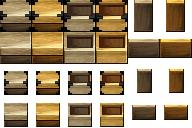 和風 木箱と木の札