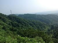 婆石展望台からの眺望