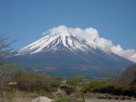 世界遺産静岡中部の富士山は東部の容と異なれど何処から見ても美しい