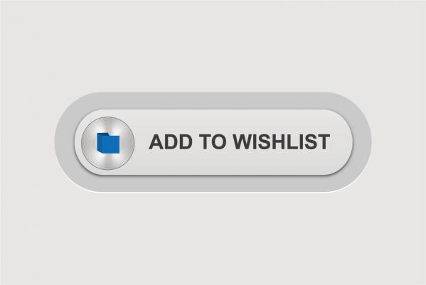 ウォッシュリスト ボタン Vector Wishlist Button